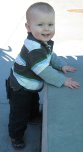 Kiddo at the zoo